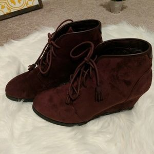 Madden girl ankle bootie
